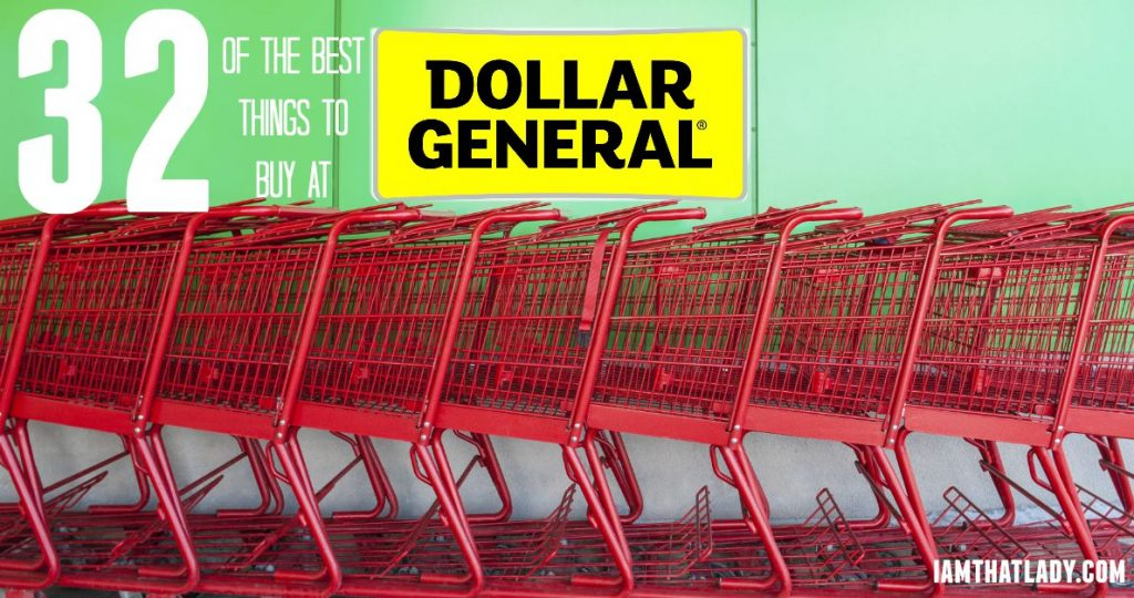 Dollar General Deals The 32 Best Things To Buy At