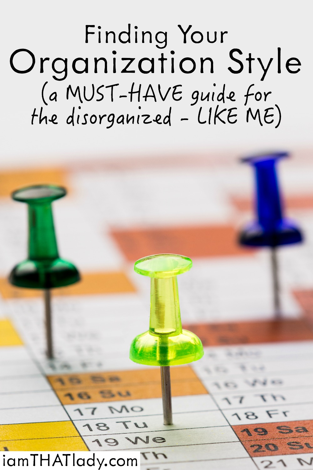 Looking for a way to get Organized? If you're anything like me, you might need some help. And these tips and questions helped me get organized when nothing else worked!