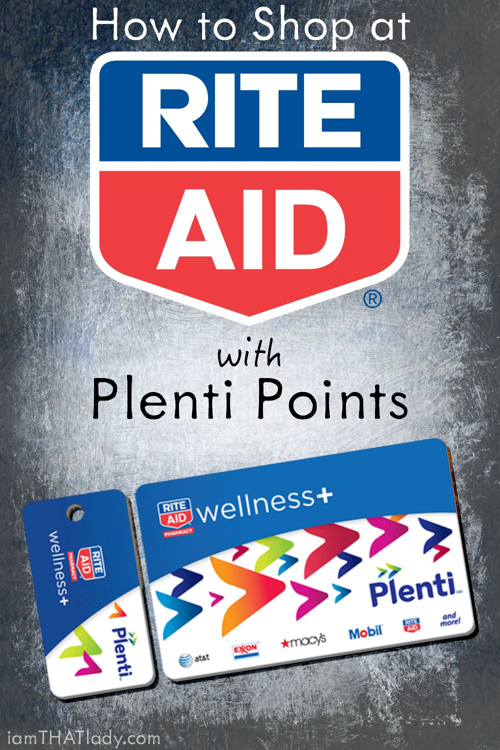 How to Shop at Rite Aid using Plenti Points - Lauren Greutman