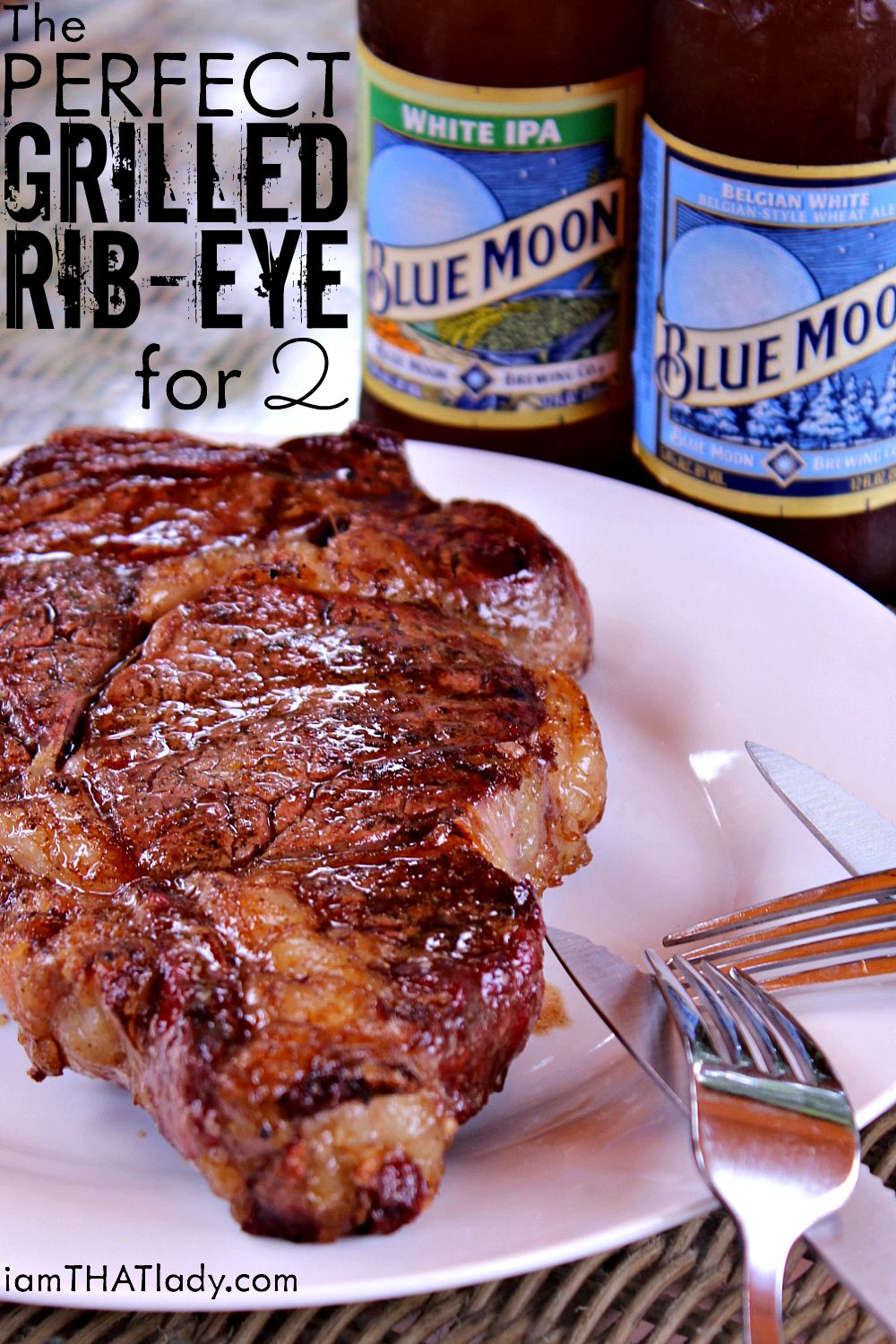 The Perfect Grilled Ribeye For 2