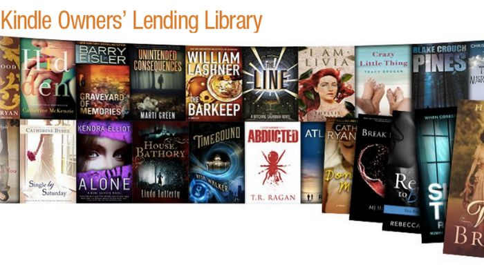 save money on books kindle lending library