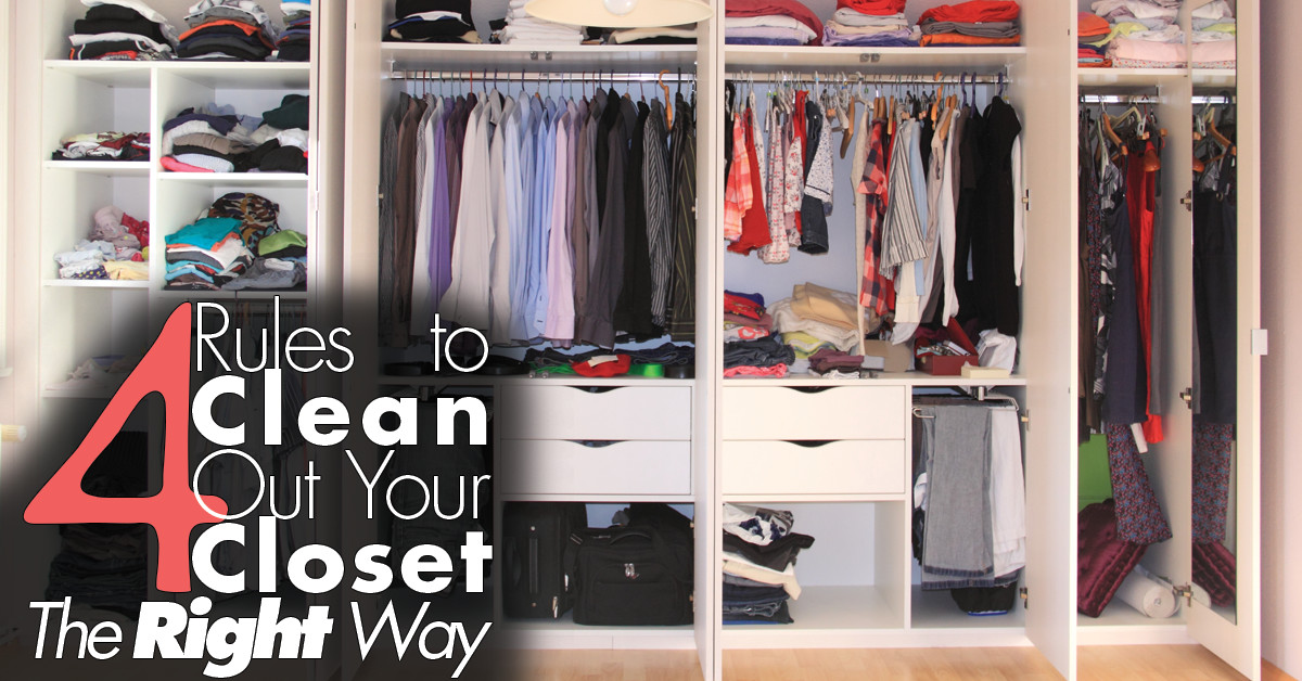 4 Rules To Clean Out Your Closet The Right Way Lauren
