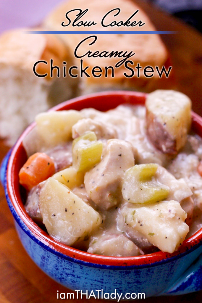 Slow cooker creamy chicken stew lauren greutman forumfinder Choice Image