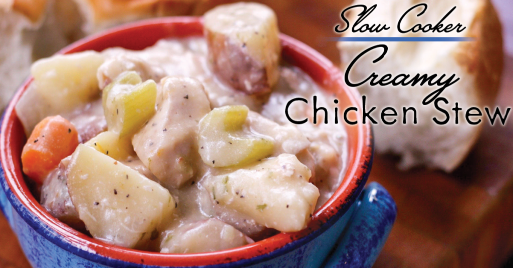 how to make a chicken stew in slow cooker
