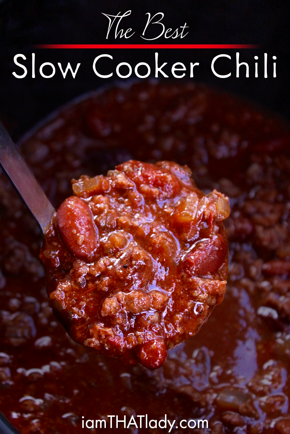 This Crockpot Chili is so easy and SOO good! This is great for a freezer meal too!