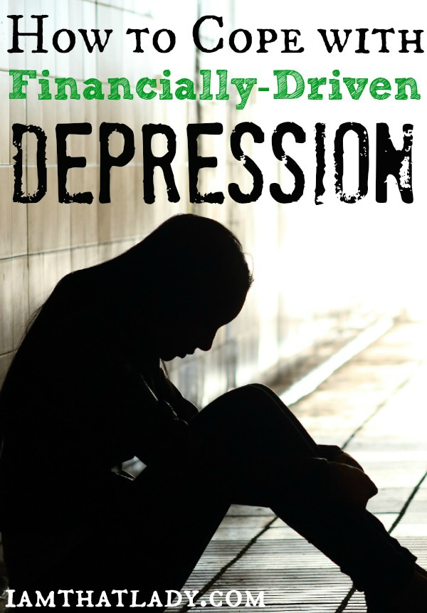 Are you sick and tired of being broke and depressed? I was too, so here is how I learned how to cope with financially driven depression.