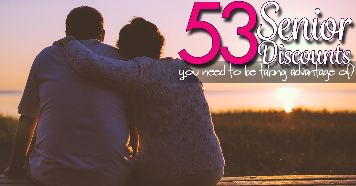 50+ Places you can take Advantage of Senior Discounts!