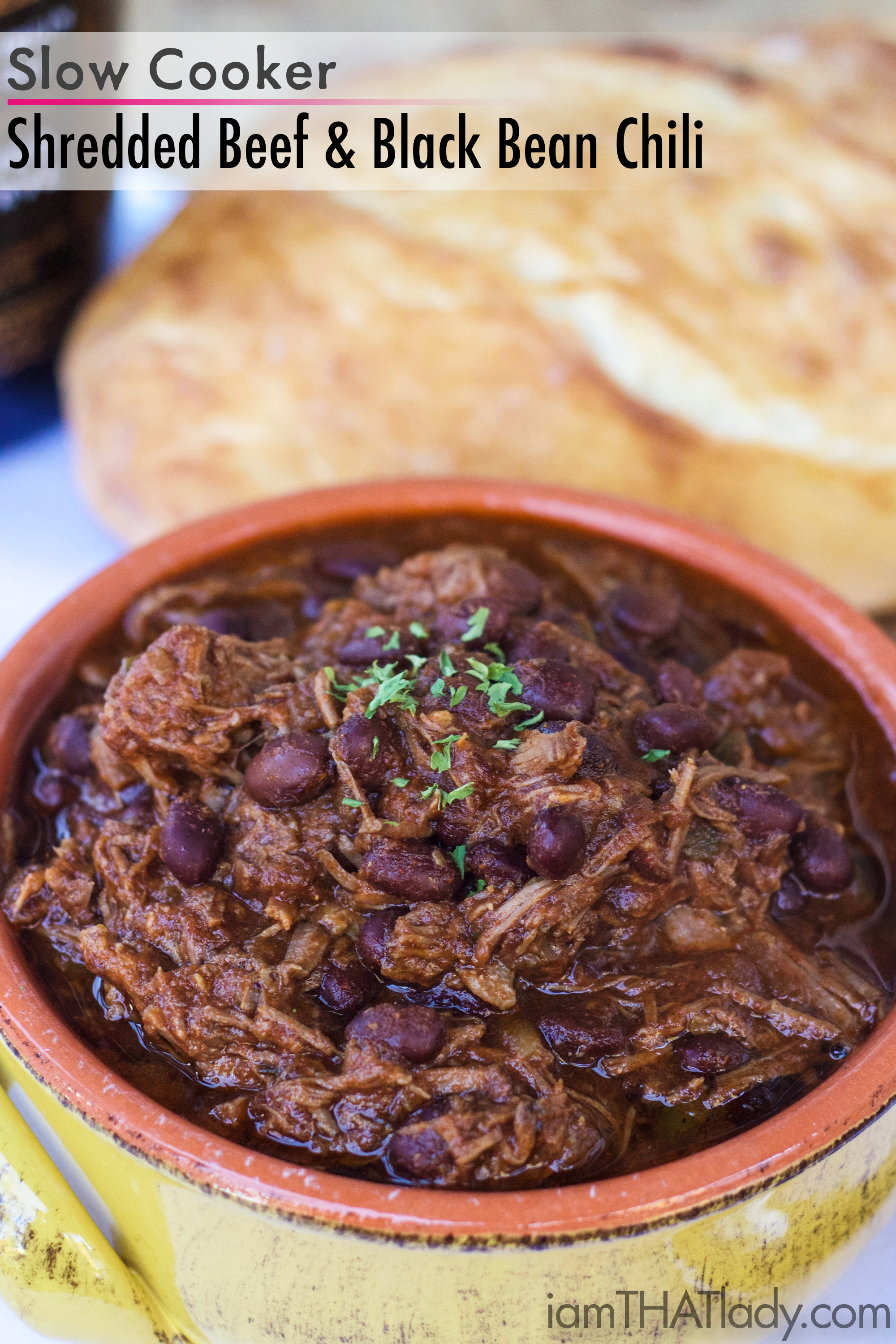 Shredded Beef and Black Bean Chili | Crockpot Recipes ...