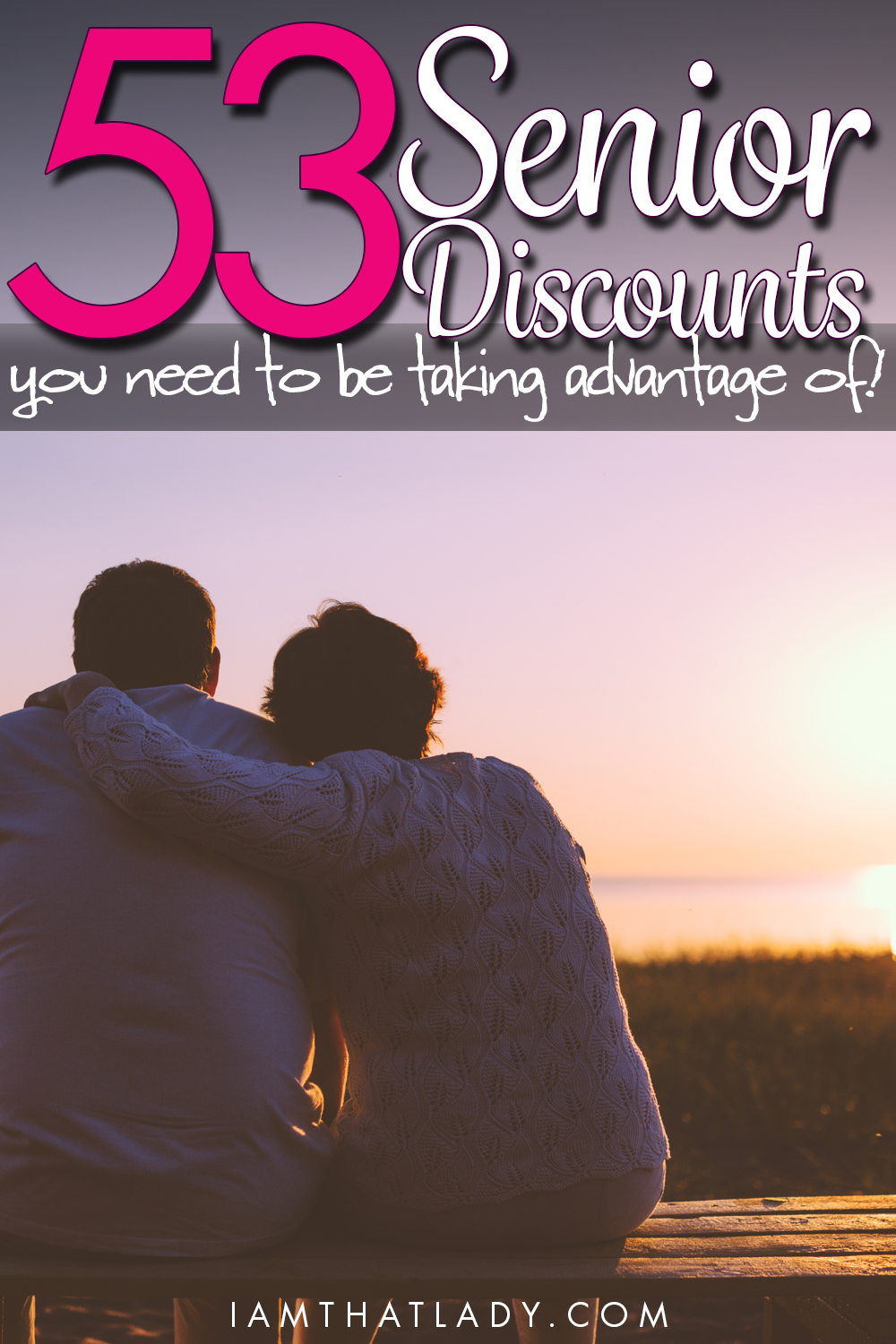 DISCOUNTS FOR 50 AND OVER