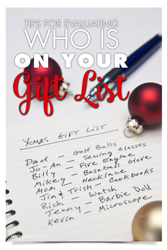 The holidays are rapidly approaching and for most people it is one of the most stressful times of the year due to finances. I want to talk about something that might be a bit of a sensitive topic... at least, I know it can be for me! Holiday gifts. Specifically, how many we're buying and who are we buying them for.
