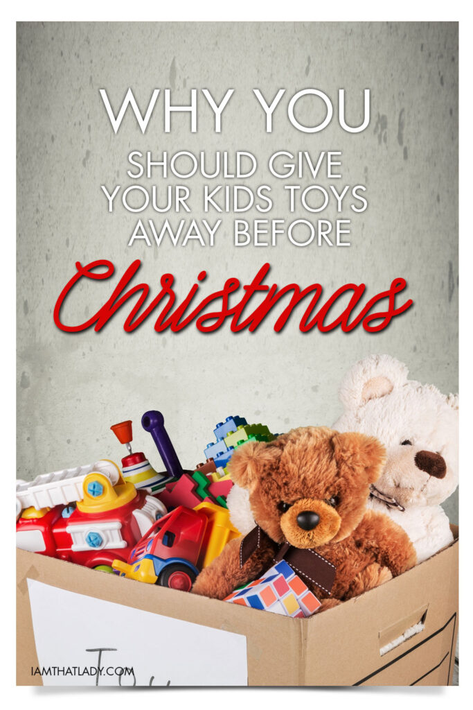 Minimizing Your Kids' Toys Before Christmas