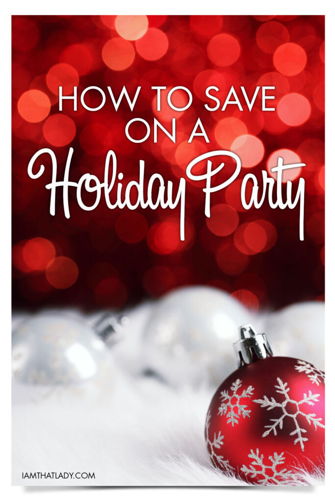 Holiday Party's can really cost you a fortune if done wrong, so here are some ways on how to save on a holiday party.
