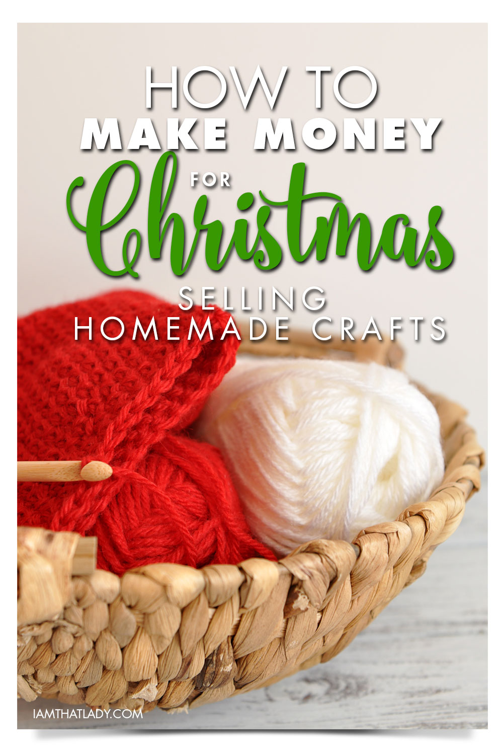 how to make money with homemade christmas crafts