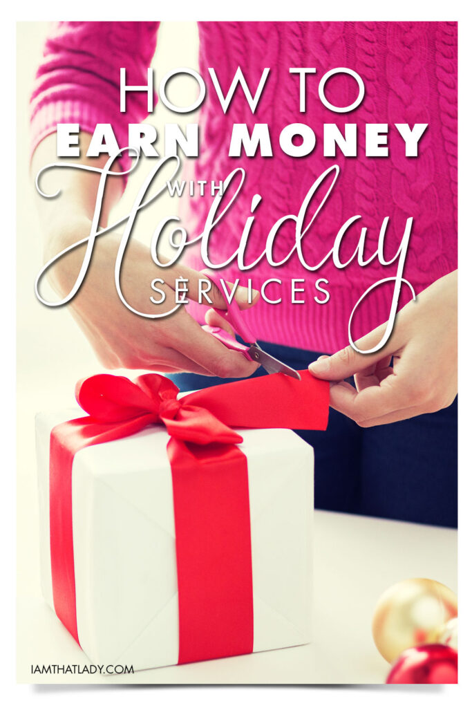 A lot of people look for ways to earn some extra money during the holiday season. Why? Well there plenty of opportunities, some of which are overlooked! A lot of people turn to making crafts and trying to sell gifts to earn some money. That's a great idea. But, what do you do if you're not crafty? Some of us do not have the time or skills to create homemade items to sell, but there are other ways to earn money this holiday season.