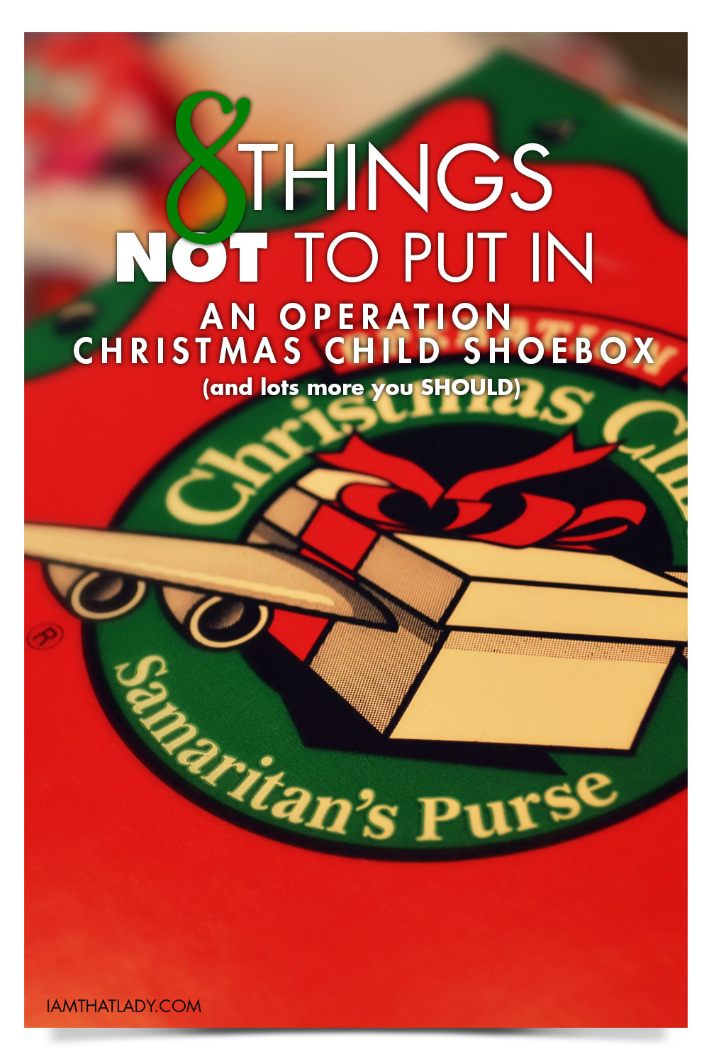 8 Things Not To Put In An Operation Christmas Child