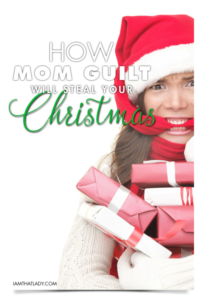 How mom guilt will steal your Christmas - 4 steps to rid yourself of working mom holiday overspending