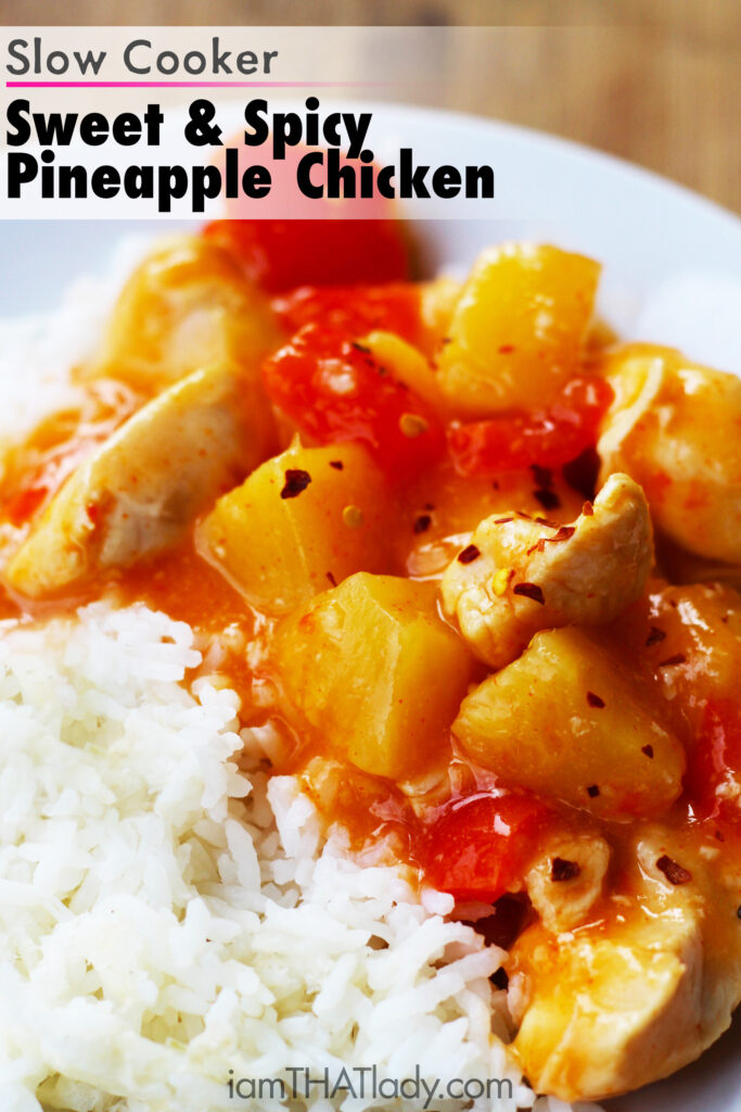 Take-out when this Slow Cooker Sweet and Spicy Pineapple Chicken ...