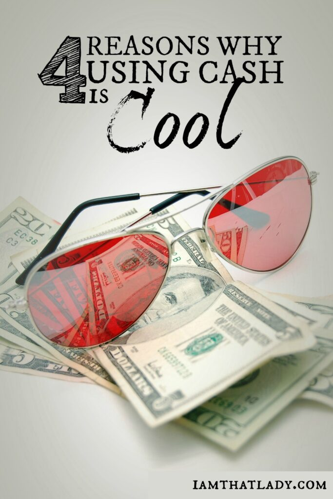 Using Cash is definitely the 'old school' way of thinking, but what if it really was the best way to live? Here are 4 reasons why using cash is still cool and help you better with your finances.