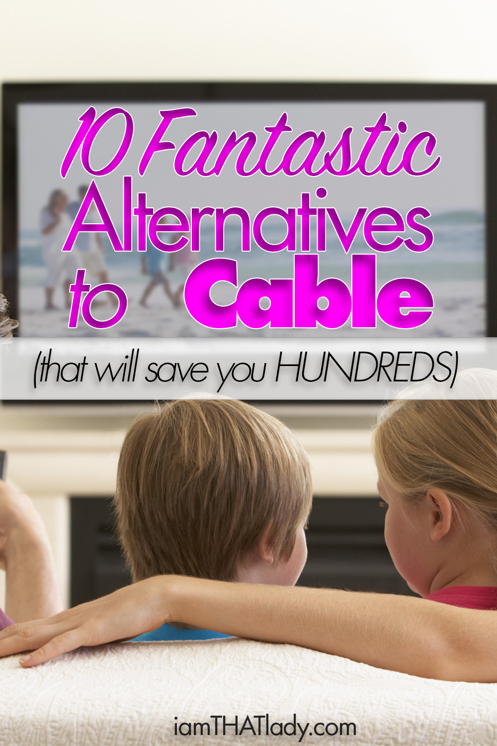 Are you sick of paying so much for your cable bill? Here are 10 amazing alternatives to cable that can help you reduce your bills by thousands per year!