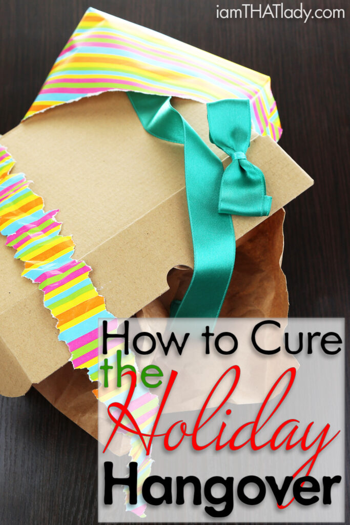 How to cure the Holiday Hangover