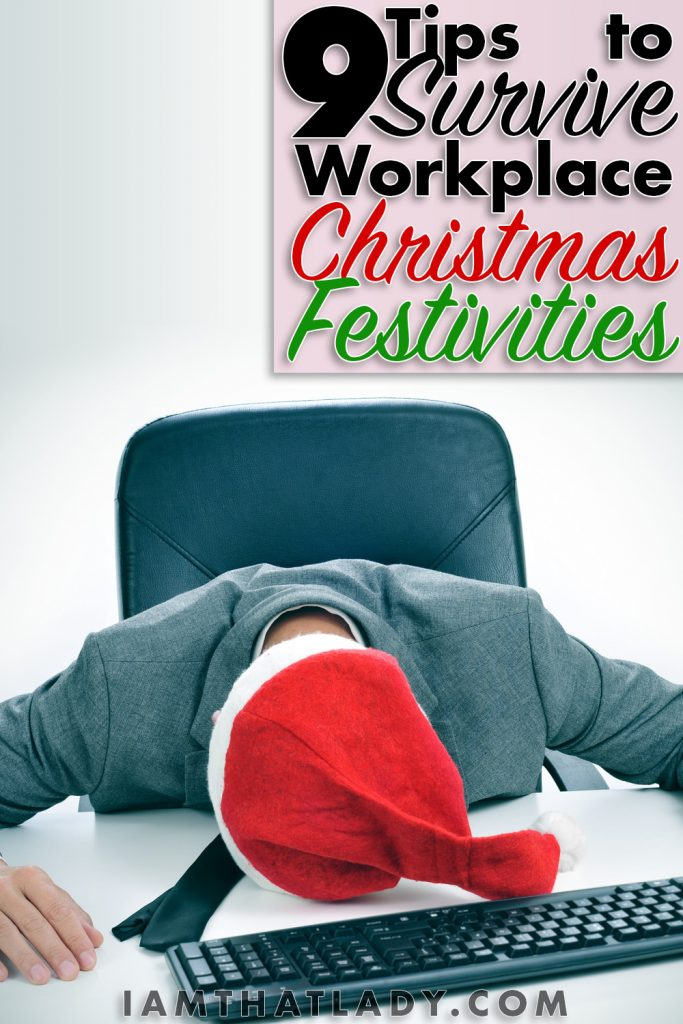 Stressed about the Office Christmas Party? Check out these 9 Frugal Tips to Survive your Workplace Christmas Festivities!