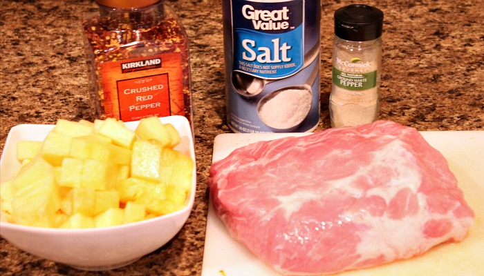 slow cooker pineapple pork loin ingredients