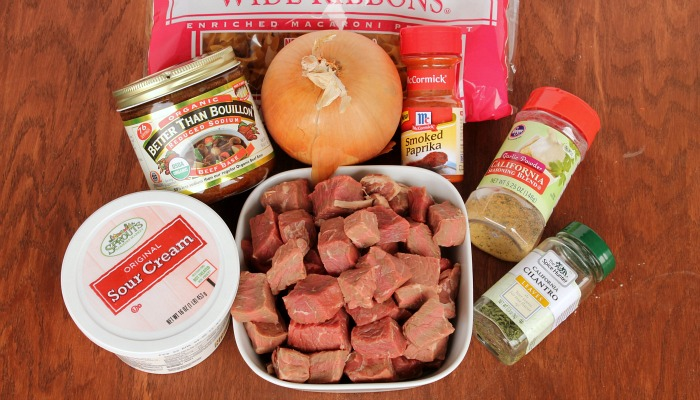 beef paprikash ingredients