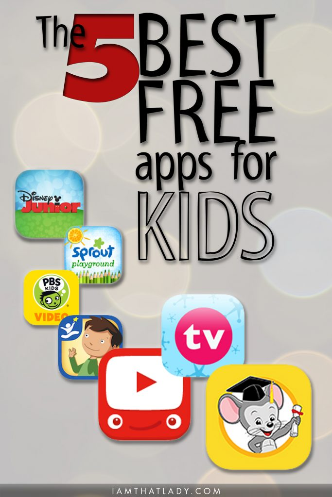 These 5 FREE education apps are the BEST ones I've found! And you can feel safe with your kids using them.