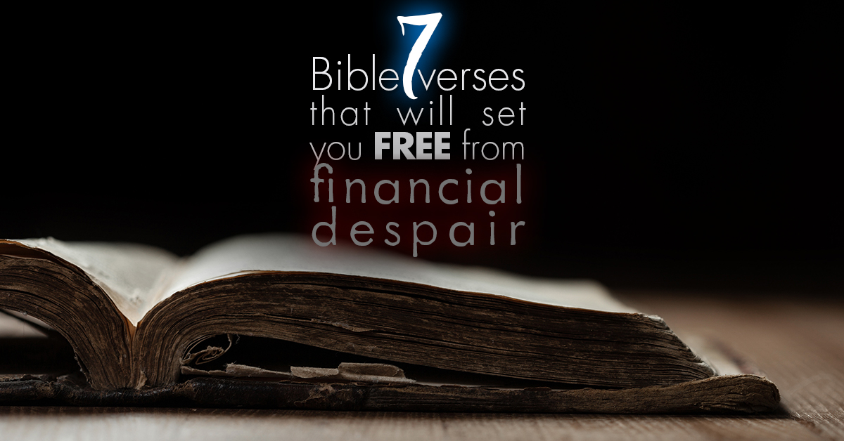 bible verses about finances  7 bible verses that will set