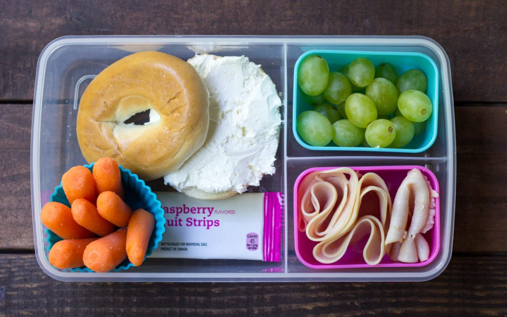 7 lunch box ideas bagels