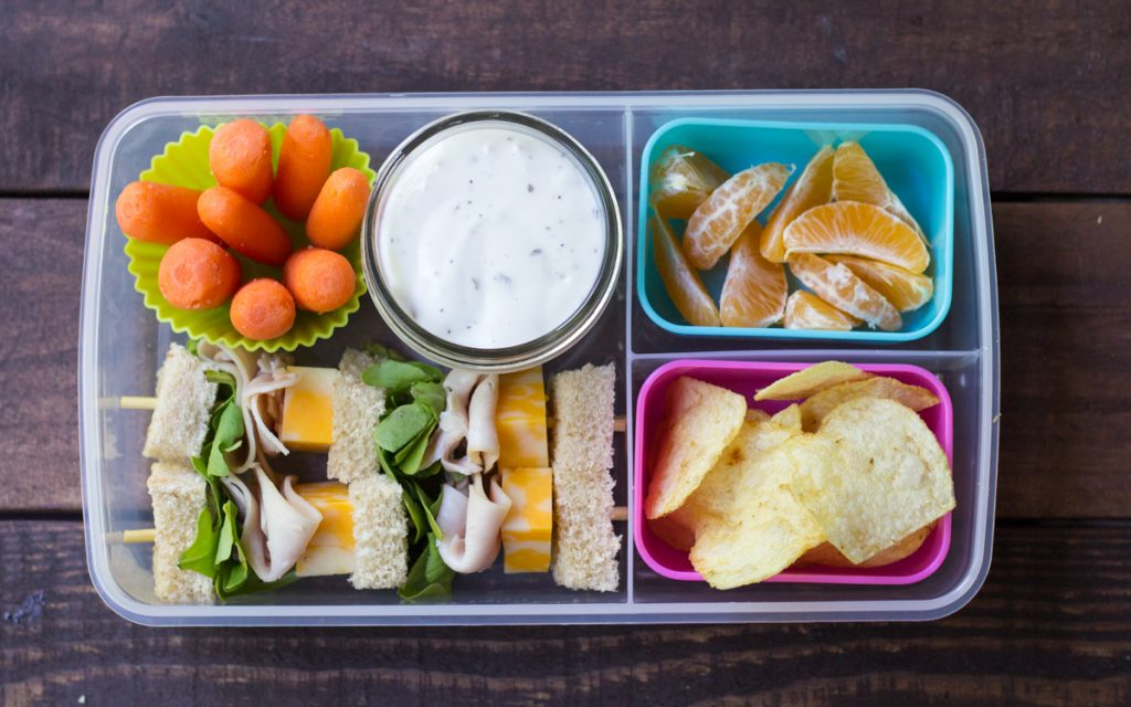 Kids Lunch Box Snack Ideas