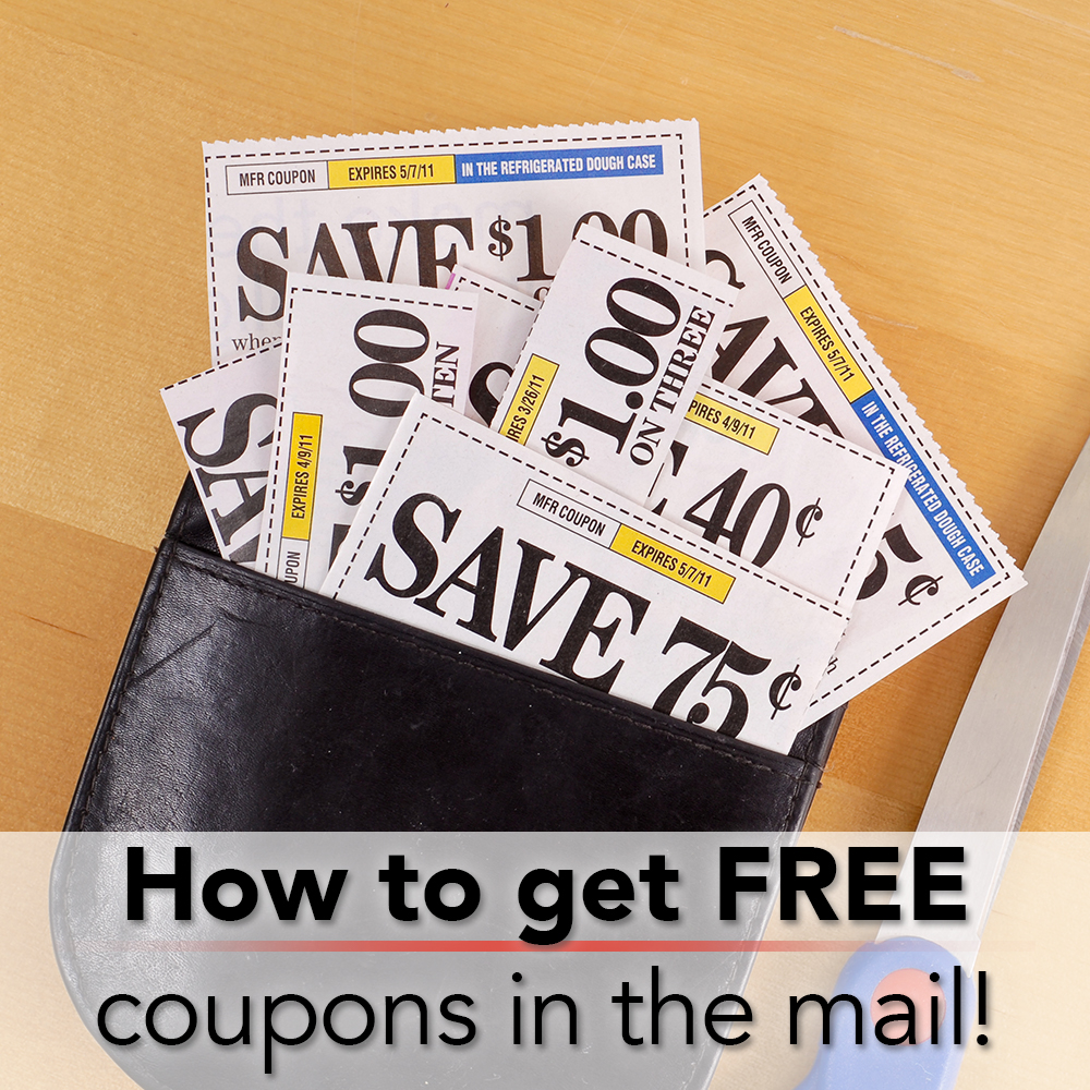 How To Get Free Coupons By Mail