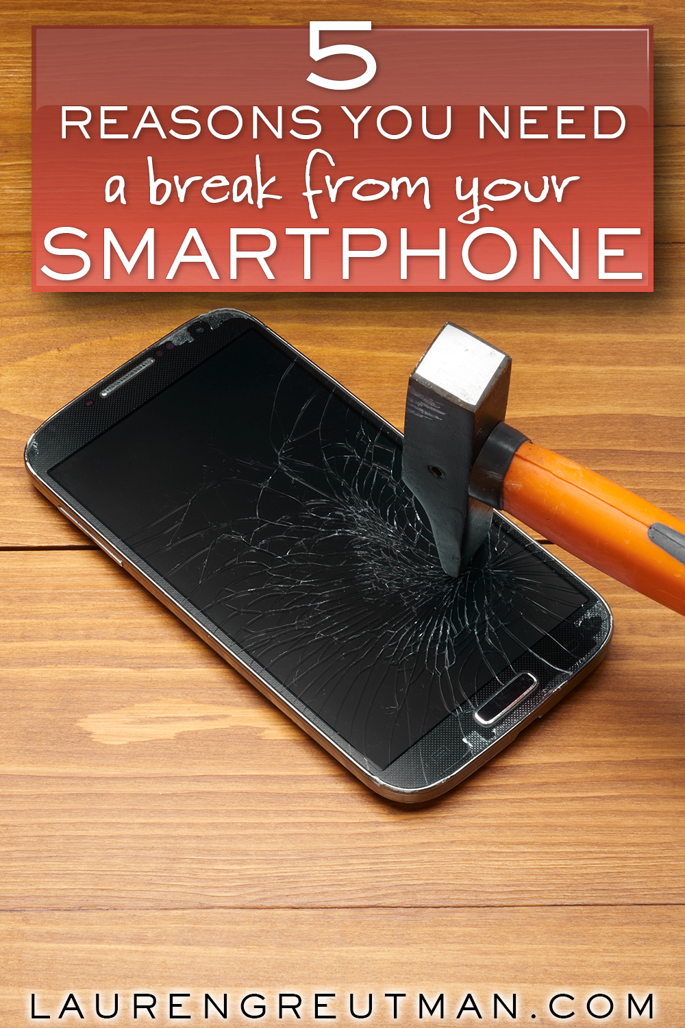 5 reasons you NEED A BREAK from your smartphone.