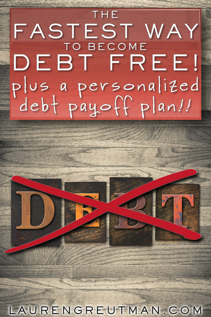 become debt free