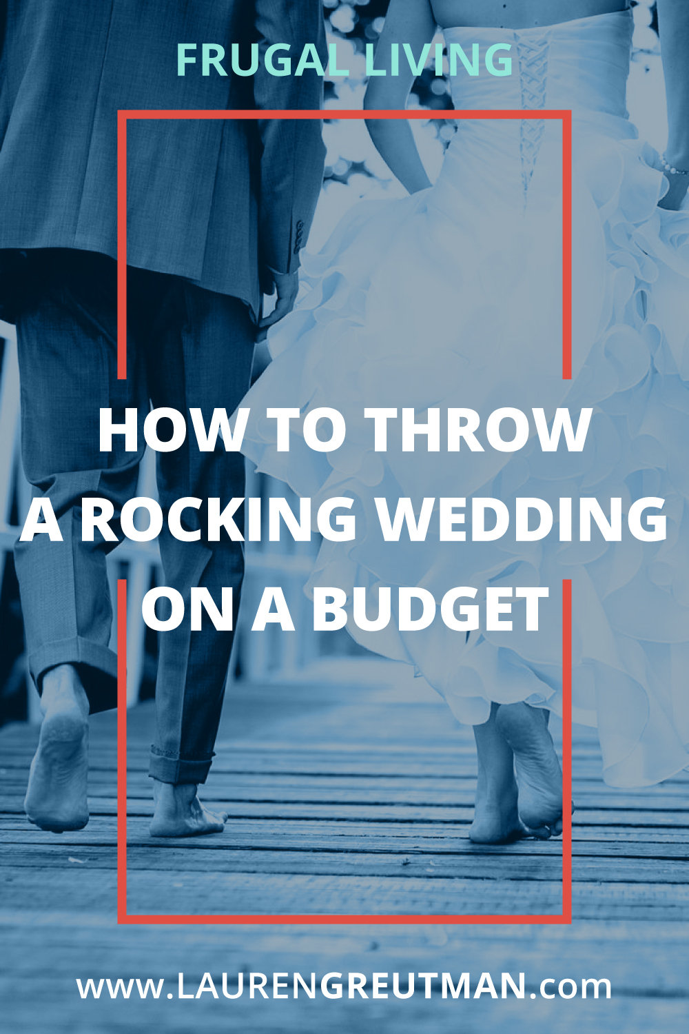 The average cost of a wedding is $30,000! But you can throw an awesome wedding on a budget that will be just as memorable for a fraction of the cost!