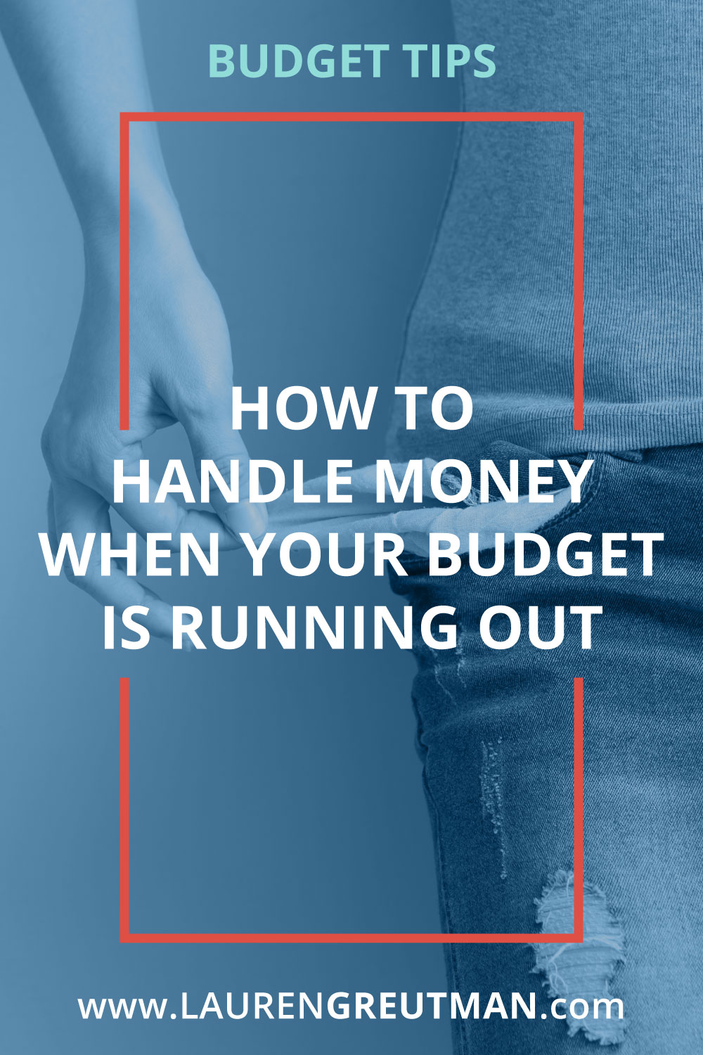 Knowing how to budget when your money is running out doesn't have to be difficult, or hopeless. There is an easy way.
