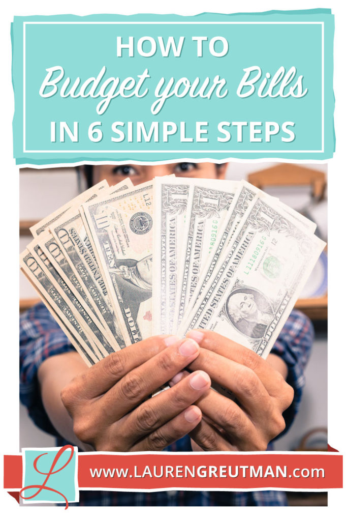 how to budget your bills in 6 simple steps no more going over budget
