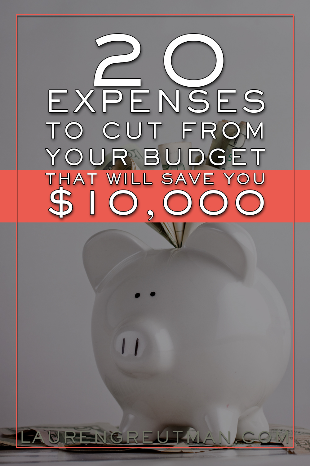 Looking for some easy items to cut from your budget and save money? These might just save you $10,000 this year!