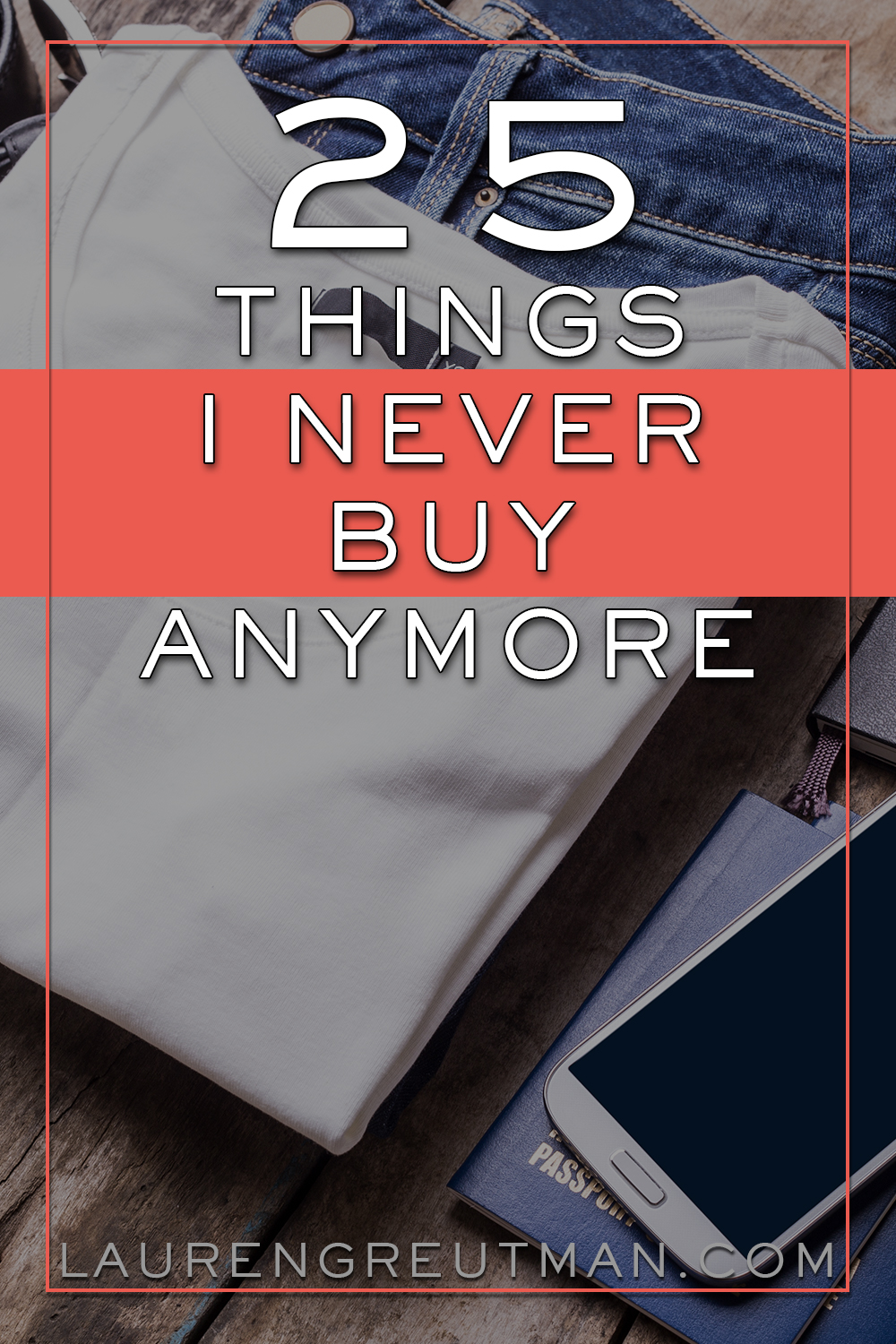 Convenience is expensive! Where will YOU draw the line? At a certain point, things become a complete Waste of Money. Here are 25+ things stealing your money!