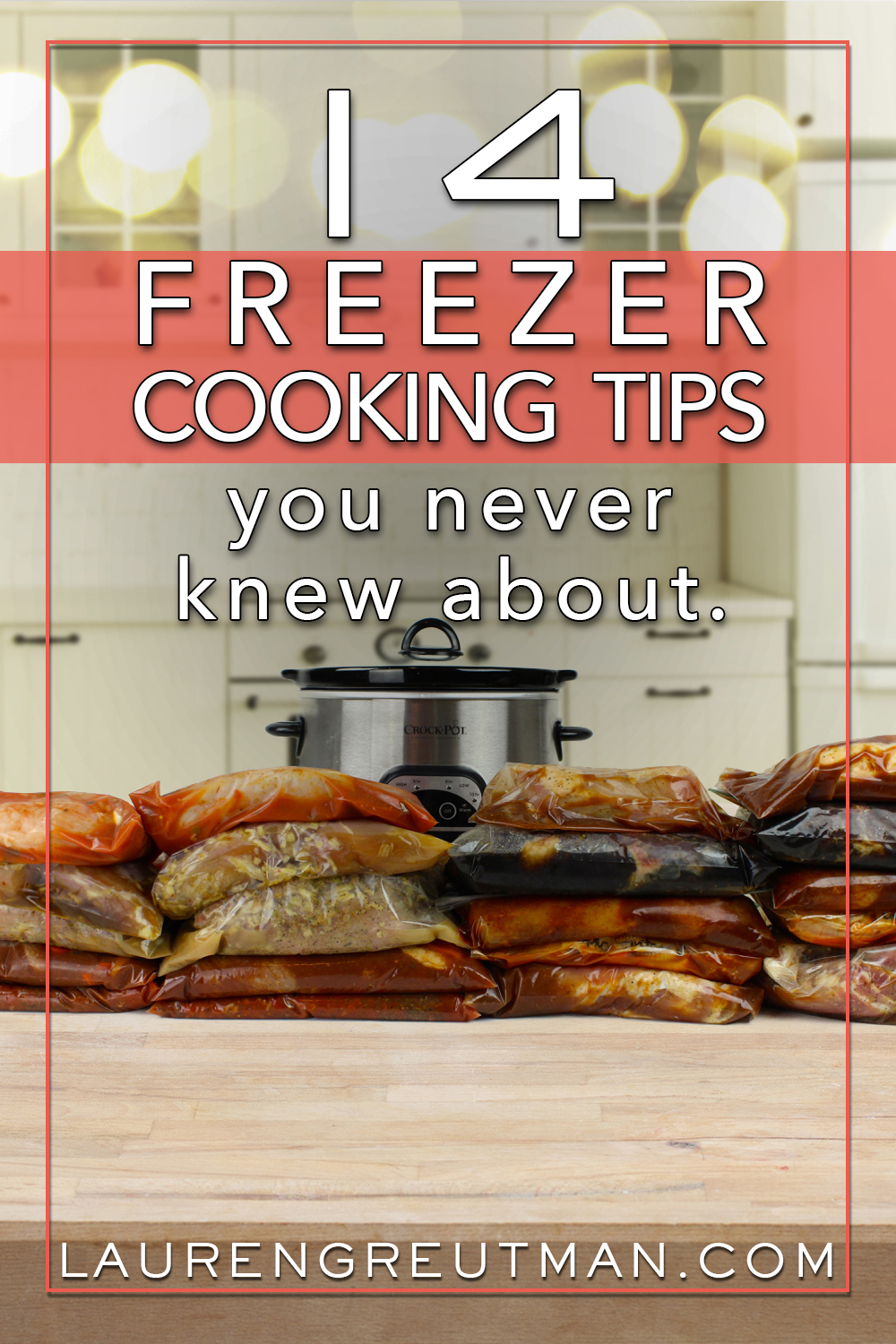 Whether you're a Freezer cooking beginner or veteran, implementing these Freezer Cooking Tips has saved me time, frustration, mess, and money.