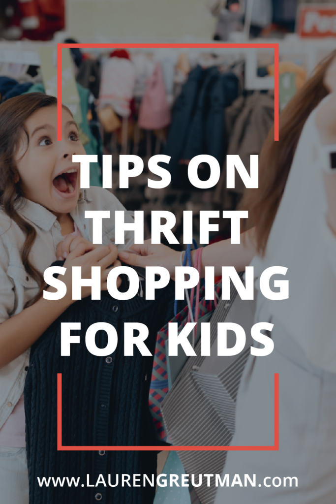 Tips on Thrift Shopping For Kids - How to find killer deals